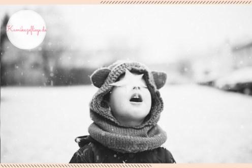 Familienblog Kamikazefliege: Schnee