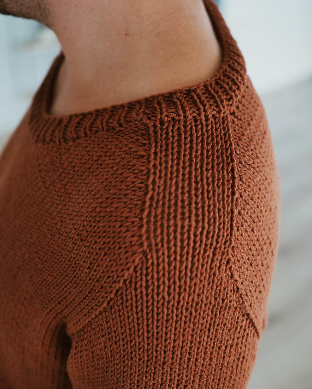 skulderkonstruksjon northland sweater