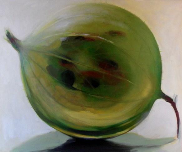 fruit paintings by Kamille Saabre