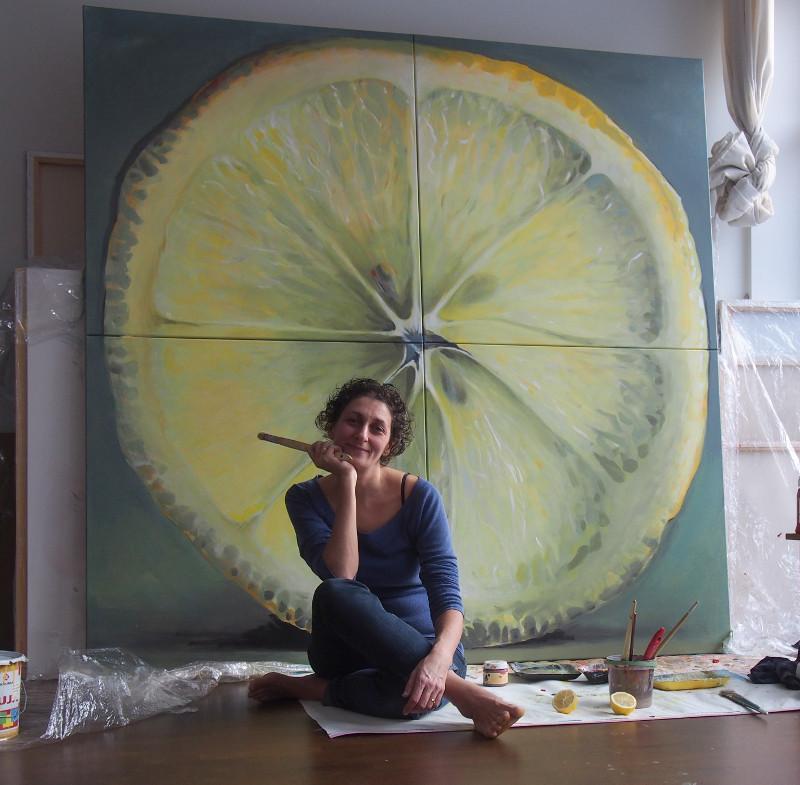 Kunstnik Kamille Saabre. artist