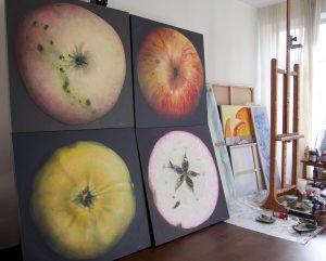 apple paintings