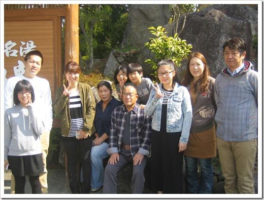 長野県よりご家族での温泉旅行のご宿泊