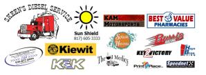 The WONDERFUL sponsors & supporters of KAM Kartway