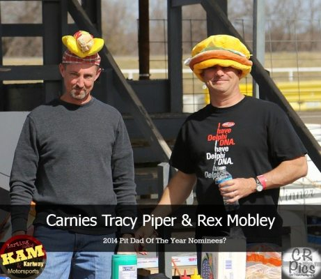 Piper and Mobley man the grills