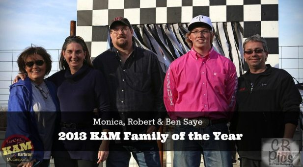 KAM Family of the Year the Sayes