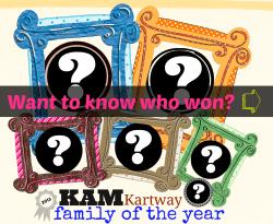 Who won Family of the Year at KAM Kartway?