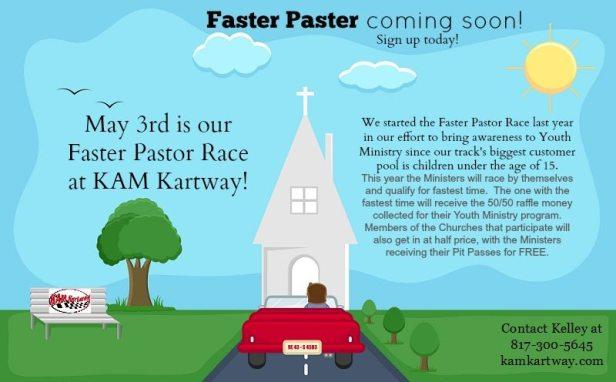 Faster Pastor Flyer
