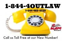 New Toll Free Phone number for KAM ~ 1-844-4OUTLAW ~
