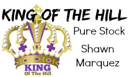 Race Results for King of the Hill, Jan 17th