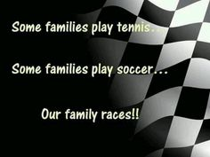 Racing Family serving a family of racers