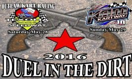 1st Annual Duel in the Dirt a Showdown between Texoma and KAM Kartway