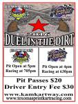 Duel in the Dirt Event Flyer