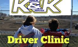 Driver Clinic Oct 22nd brought to you by K&K Race Services