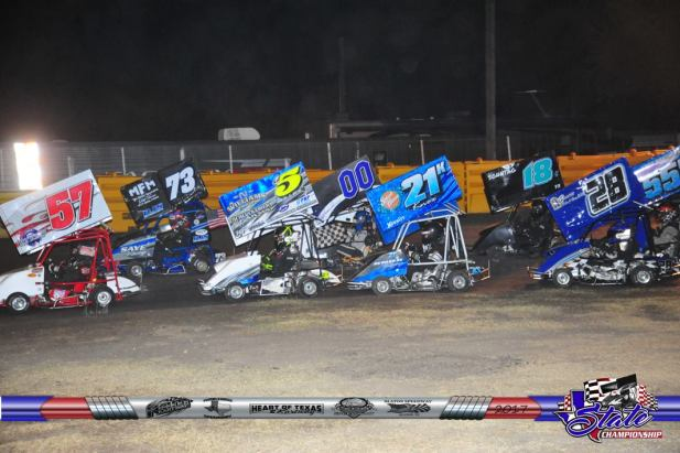 Texas State Championship Outlaw 250 Class at KAM Kartway photo by Karen Davis