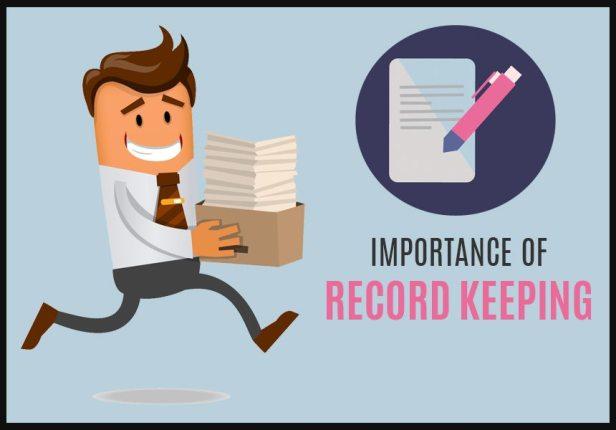 record keeping blog