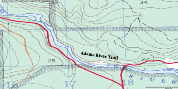 Adams River Trail