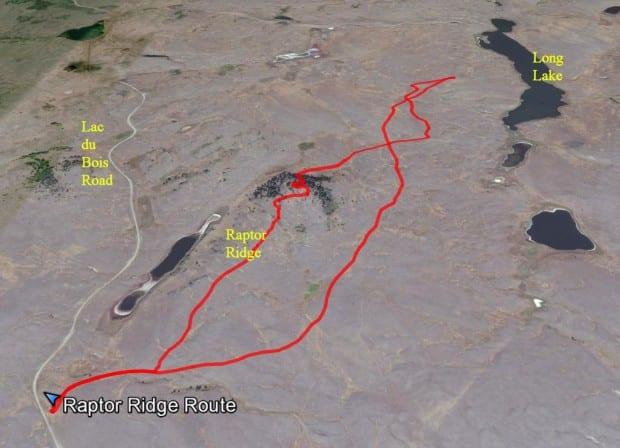 Raptor Ridge Route