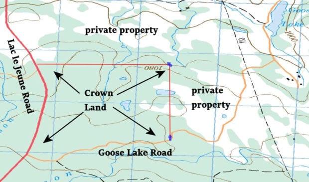 Upper Goose Area