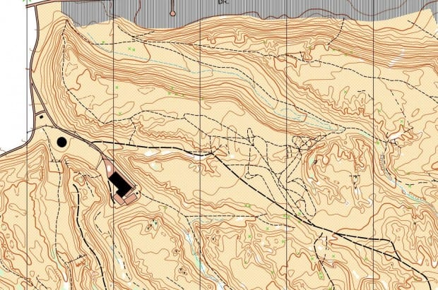 valleyview Nature Loop topo