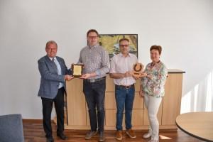 Bgm. Karl Dobnigg, Claus-Jürgen Butter, Dr. Stefan Hinterholzer, GR Monika Britzmann