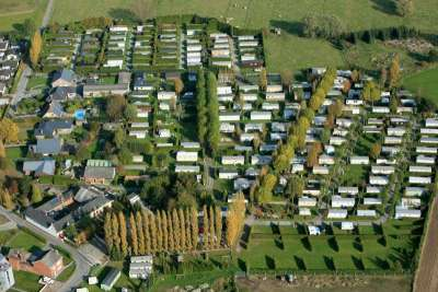 01 Luchtfoto Kampeerverblijfpark Canteclaer