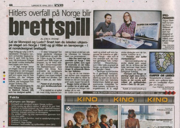 VG-artikkel 09.04.2011
