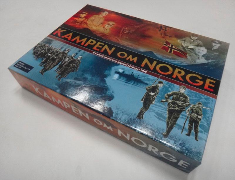 Kampen om Norge eske