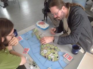 Tyskland har omsider fått grepet om Sør-Norge på bord 2.
