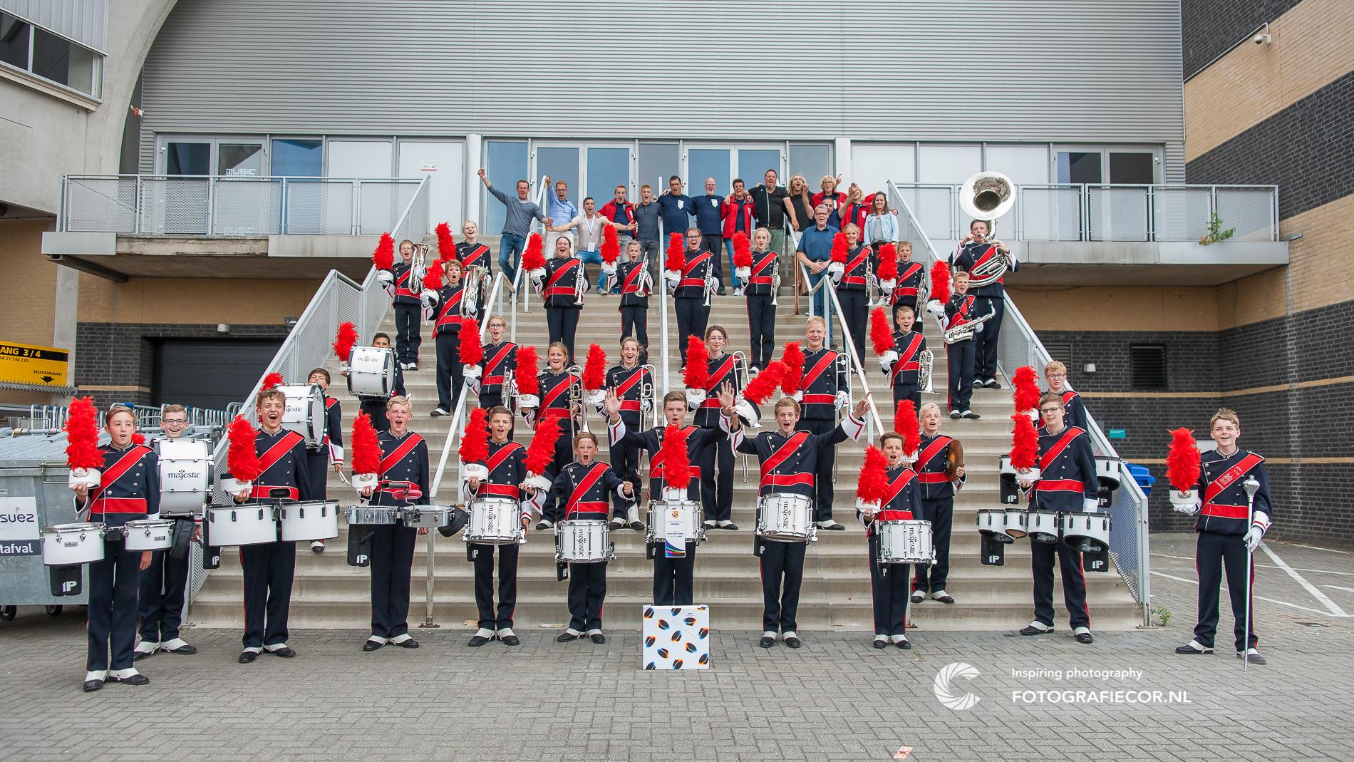 Groepsfoto | WMC | Kerkrade | zilver | KTK | Kampen | concours | wereld | muziek | event | fotografie