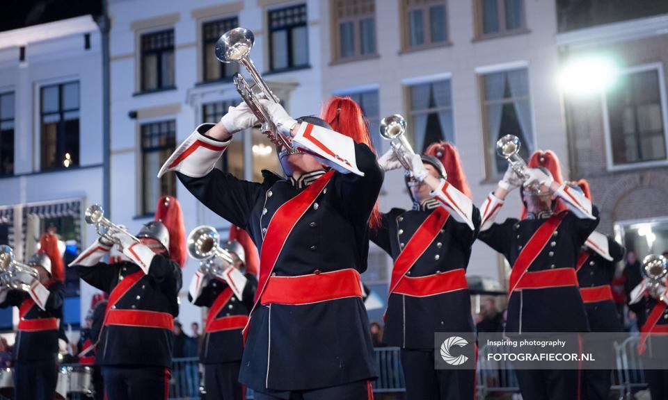 Open repetitie bij het Kamper Trompetter Korps