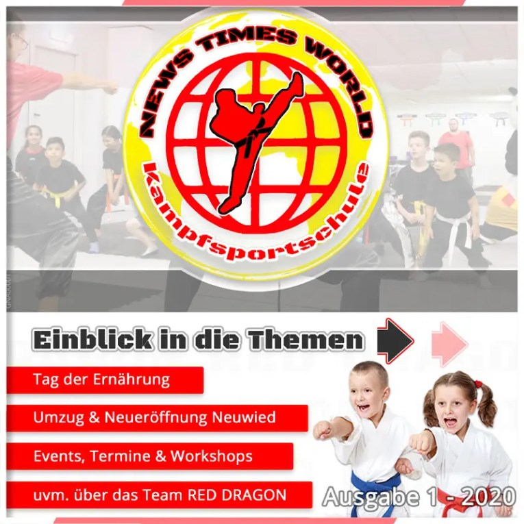 Grafik erste Zeitung Kampfsportschule Neuwied