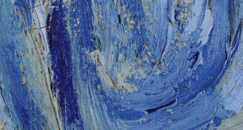 Van Gogh, Starry Night detail