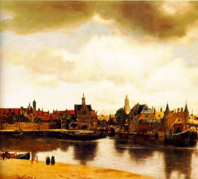 Vermeer, View of Delft