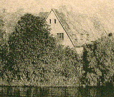 Les Andelys, detail of photogravure etching