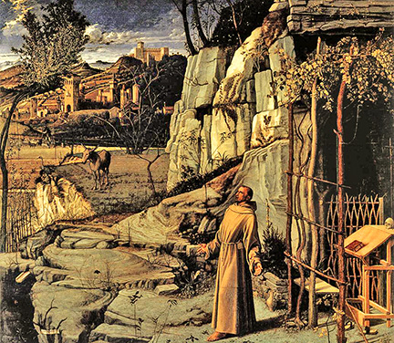 Giovanni Bellini, St Francis in the Desert (1480)