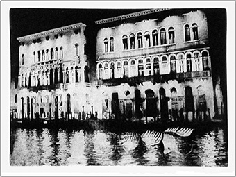 Venetian Carnival, photogravure etching
