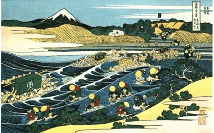 Hokusai, Fishing
