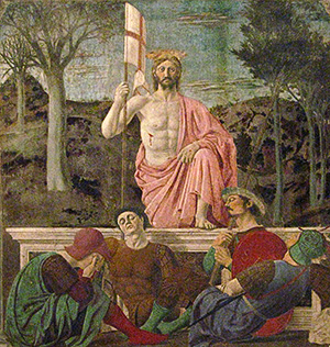 Piero della Francesca, Resurrection (1460)
