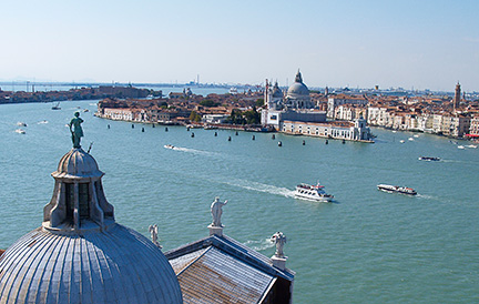 Venice from the top of San Giorgio