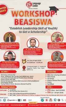 workshop beasiswa
