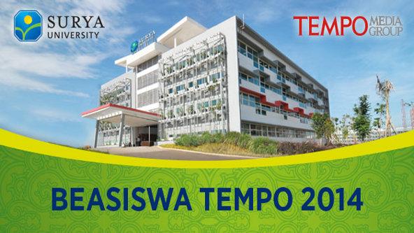 Beasiswa TEMPO 2014