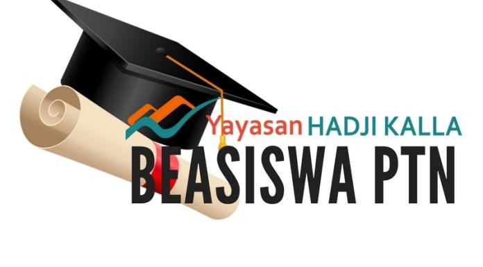 Beasiswa Unggulan Yayasan Hadji Kalla 2017