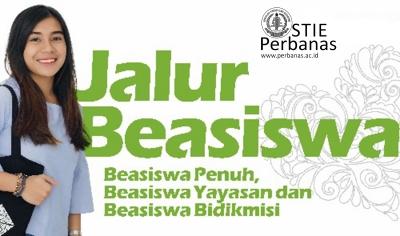 Beasiswa STIE PERBANAS Surabaya 2018