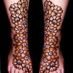 Legs Mehndi