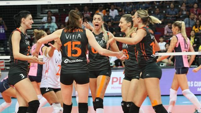 Eczacıbaşı VitrA Kadın Voleybol Takımı 2. kez Dünya şampiyonu