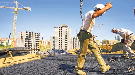 İnşaat sektöründe ciro %6,9 azaldı