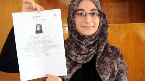 Astım hastası Zehra'nın iptal edilen YGS sınavı geçerli sayıldı