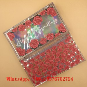 Rose Eyelash Packaging Box
