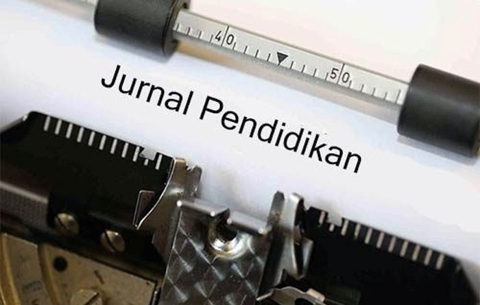 Penulisan Artikel Jurnal Pendidikan
