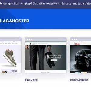 Buat Toko Online dengan Website Builder